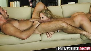 Horny blonde milf Julia Ann gets pounded by Manuel Ferrara