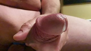 Late Night Jerking Cock for Cum Relief
