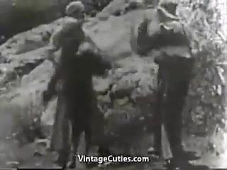 Hardcore movie outdoor teen video - Shooting a hardcore sex movie 1930s vintage
