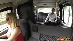 FemaleFakeTaxi Tourist introduced to taxi tradition
