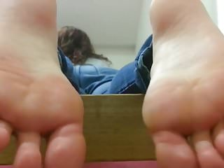 Barely bridget sexy Roses sexy bare soles