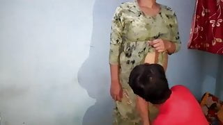 Indian Student and Teacher Fucking hard at Home