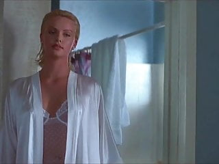 Charlize theron in latex Charlize theron fucks james spader