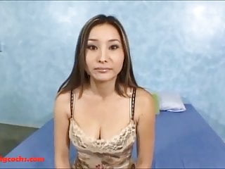 Asian girs monster cock vids - Big huge white monster cock breaking open asian maid pussy