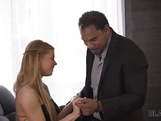 White tranny getting rammed black man - Black4k. when black man comes, white pussy gets ready for...