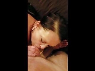 Cum in seconds - Motel hooker blowjob cum in mouth second visit
