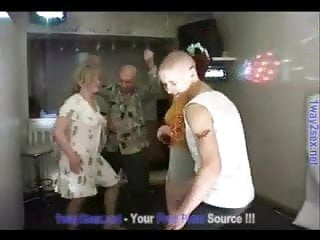 Techno music sex Russian swingers - teens and matures homemade techno party