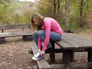 Dinosaur peeing Super cute babe teen super hot pee -rubin-