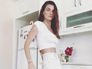 Image nude pretty woman Non nude pretty girl dances in her kitchen