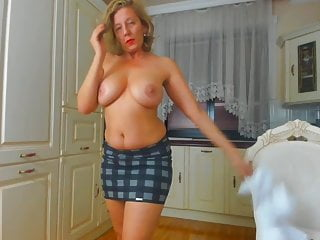 Big natural sexy tit Sexy milf with big natural boobs on webcam by whitewolfpl