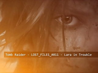 Hentai girlss Lara croft in trouble