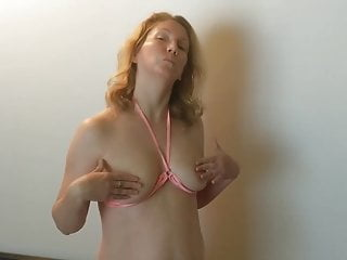 Housewifes wild orgasm on video Shy housewife displayed for strangers