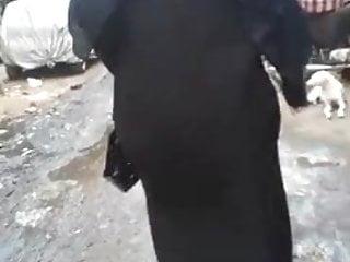 Voyeur hijab - Hijab abaya candid : 004