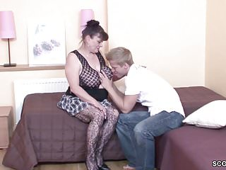 Granny seduces boy porn video Young boy seduce his grandma to get first fuck