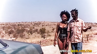 Time to walk my african bitch and fuck her in the car after