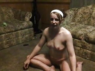 Women being flogged naked Unaware amateur being taped naked