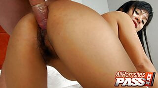 Asian Babe Nay Fucked And Jizzed On And Showers Afterwards