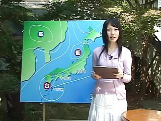 Sexy female news reporter porn Name of japanese jav female news anchor
