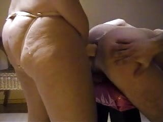 Wife fucks husband with strap-on - Lucky husband gets strap on fucked by sexy wife 2