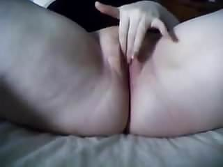 Orgasm and bad Her chubby pussy gets so wet when shes being bad