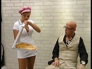 Law and order tit Betty - pizza order