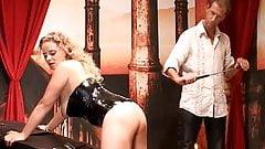 In a German BDSM studio (MaleDom, FemSub)