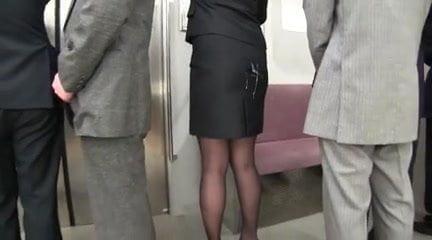 Skirt cum on cum on