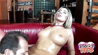 Big Tits Daria Glower Cock Sucking Session