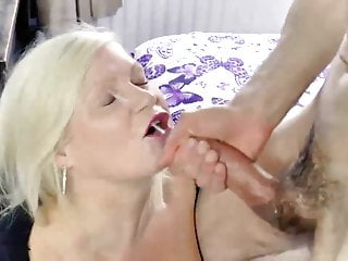 Grows a penis - Agedlove mature lady grows wild with this manly partner