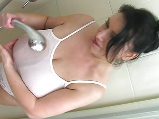 Bbw model jade - Sabrina jade wet tits and pussy fun
