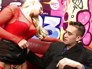 Aspirin mask for facial redness British blonde in red fishnets on hard cock for facial