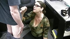Carrie - Cum Covered Glasses