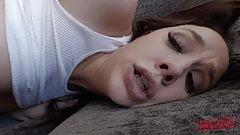 CHANEL PRESTON TAKES BLACK COCK UP HER ASS