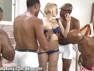 Guys porns videos Kagney linn karter gangbanged by 4 black guys