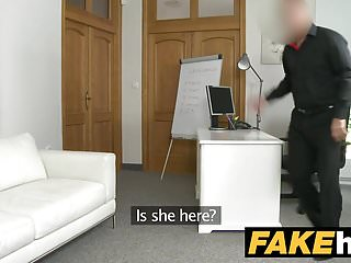 Young fuck models - Fake agent young perky tits model fucked on the couch