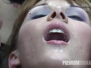 Gay video premium sites - Premium bukkake - michelle swallows 71 huge mouthful cumshot