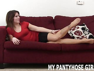Together in one pair of pantyhose I put on your favorite pair of pantyhose joi