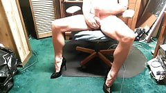 Just Heels and Cum