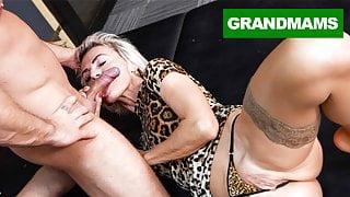 Sluttiest Granny Craving for Creampie