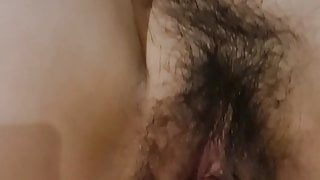 Making love and fucking hairy Vietnamese pussies, so hot