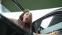 Fake Taxi Venom Evil and her extremely hardcore fast fuck