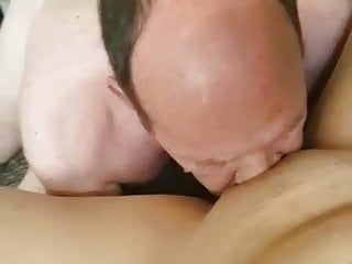 Pussy suck her [Dog Licking