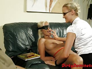 Euro domination 23 Blindfolded euro dominated by spex milf