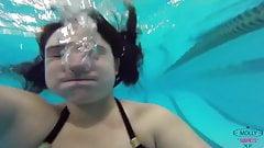 Underwater Breath Holding Warmup