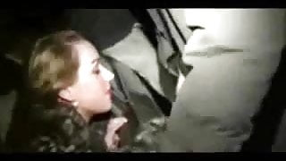 My slut wife sucking cocks of strangers in public parking