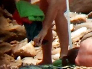 Naked cuban on beach - Naked pretty lady on beach 3