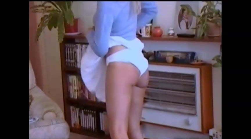 Girls In Panties Getting Spanked Gif