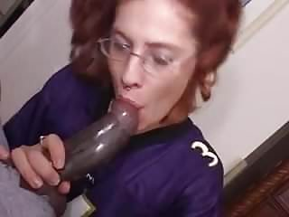 Blacks on red heads fuck - Red head bobby takes a huge black cock