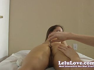 Anal ripping during sex - His and her anal butt plugs in during sex