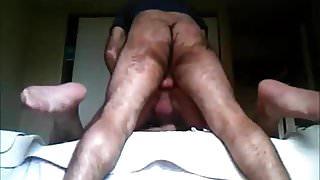 Slut Bottom gets bred in bathhouse